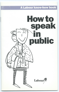 'How to Speak in Public' Cover
