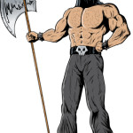 Executioner with an Axe