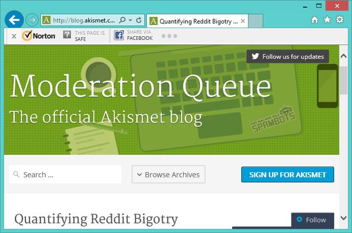 AkismetBlogPost