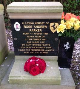 RossAndrewParkerCrematoriumPlaque
