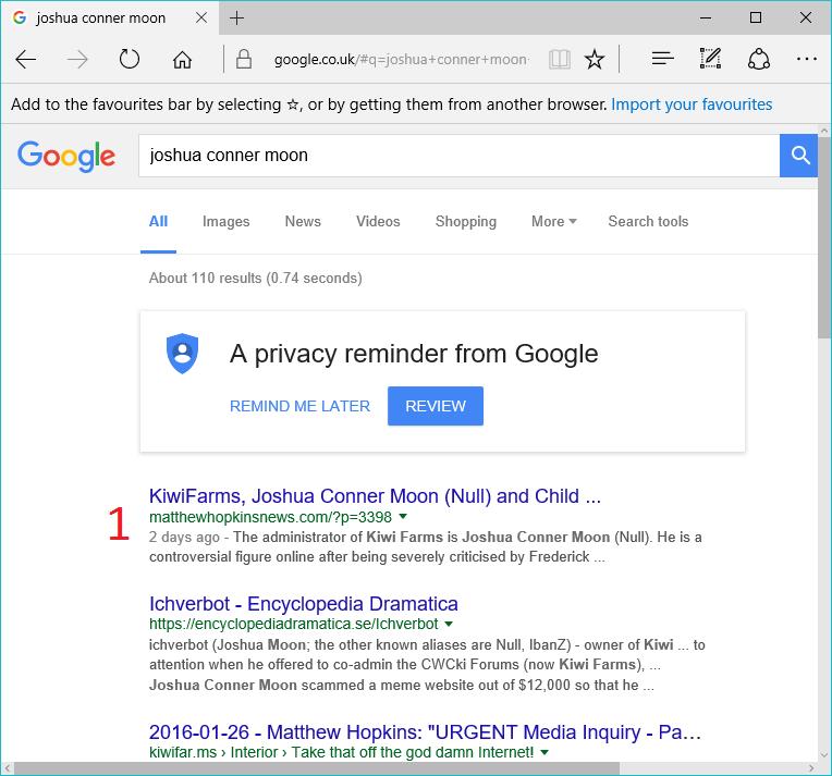 GoogleJoshuaConnerMoon