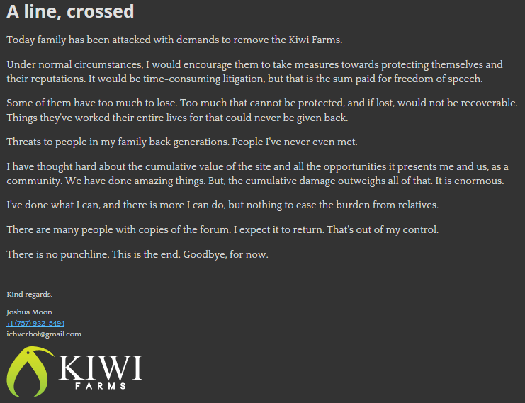 KiwiFarmsDown