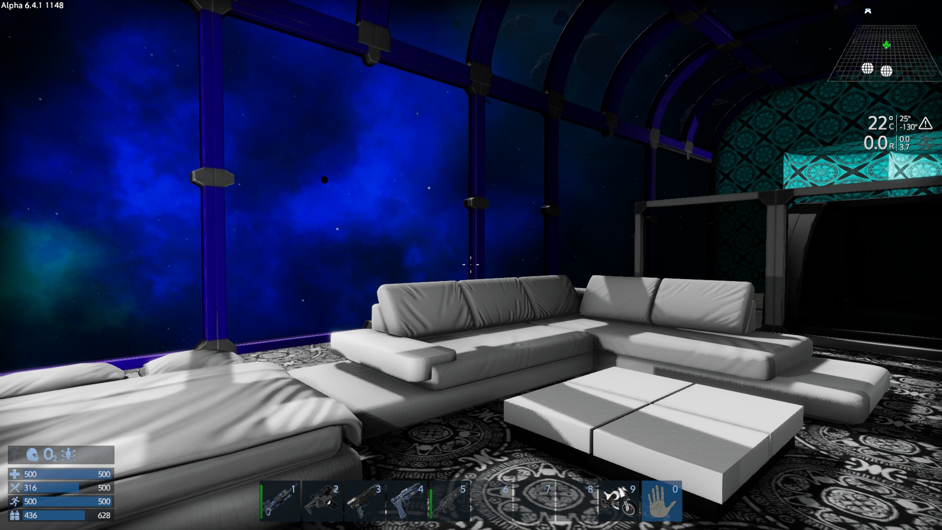 EmpyrionShipLoungeSpace